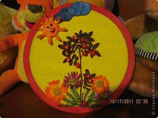 Поделки для детсада на тему золотая осень